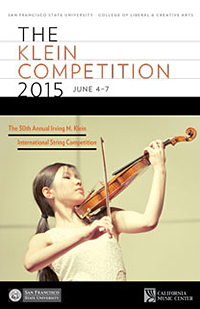 2015 Klein Competition Program
